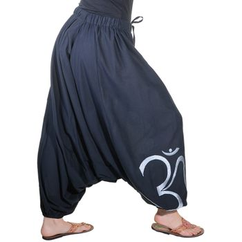 Kunst und Magie Unisex Cotton Harem Pants with OM Symbol – Bild 18