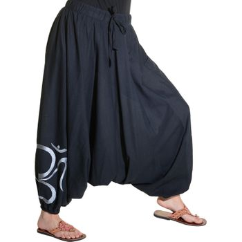 Kunst und Magie Unisex Cotton Harem Pants with OM Symbol – Bild 19