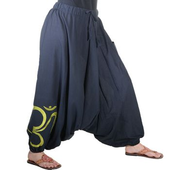 Kunst und Magie Unisex Cotton Harem Pants with OM Symbol – Bild 24