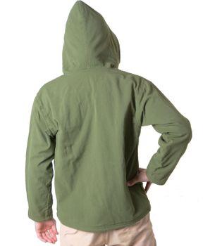 Baumwolljacke mit Fleecefutter und Kapuze - Hippie Jacke mit Reißverschluss – Bild 8