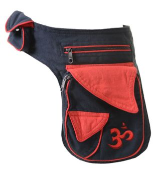 Extraordinary OM Festival Belt Bag Goa Shoulder Bag Fanny Pack Hippie – Bild 2