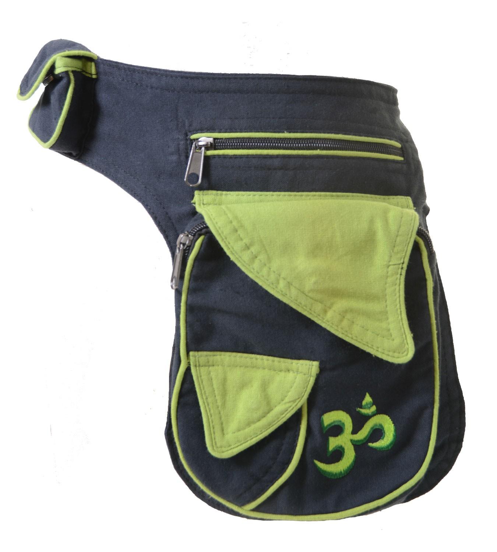 Fancy Om Festival Bauchtasche Goa Shoulder Belt Bag