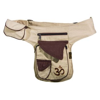 Extraordinary OM Festival Belt Bag Goa Shoulder Bag Fanny Pack Hippie – Bild 6