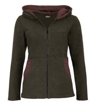 Women's Hippie Fleece Jacket with Hood