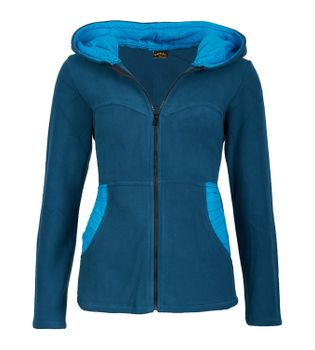 Women's Hippie Fleece Jacket with Hood – Bild 3