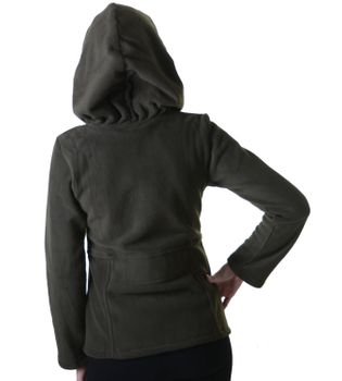 Women's Hippie Fleece Jacket with Hood – Bild 9