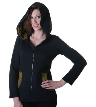Cotton Hoodie with Fleece Lining – Bild 9