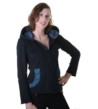 Cotton Hoodie with Fleece Lining – Bild 4