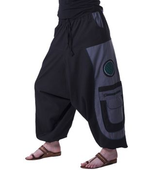 Men's - Aladdin Pants Harem Pants with Extraordinary Design  – Bild 16