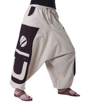 Men's - Aladdin Pants Harem Pants with Extraordinary Design  – Bild 15