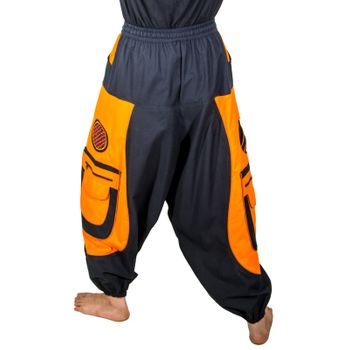 Men's - Aladdin Pants Harem Pants with Extraordinary Design  – Bild 19