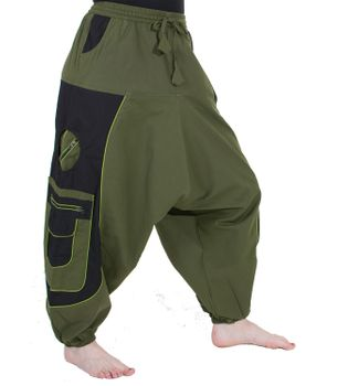 Men's - Aladdin Pants Harem Pants with Extraordinary Design  – Bild 12
