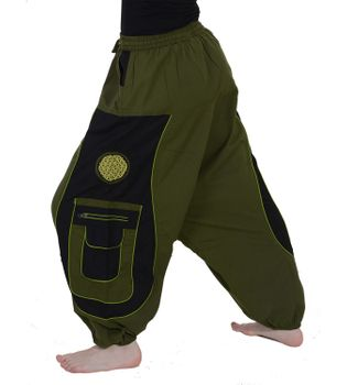 Men's - Aladdin Pants Harem Pants with Extraordinary Design  – Bild 13