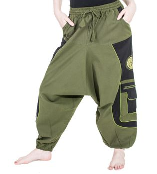 Men's - Aladdin Pants Harem Pants with Extraordinary Design  – Bild 11