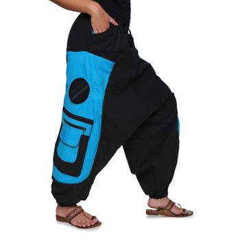 Men's - Aladdin Pants Harem Pants with Extraordinary Design  – Bild 8