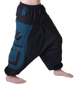 Men's - Aladdin Pants Harem Pants with Extraordinary Design  – Bild 5