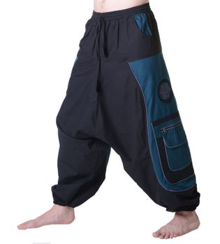 Men's - Aladdin Pants Harem Pants with Extraordinary Design  – Bild 4
