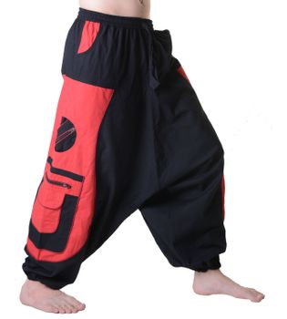 Men's - Aladdin Pants Harem Pants with Extraordinary Design  – Bild 7