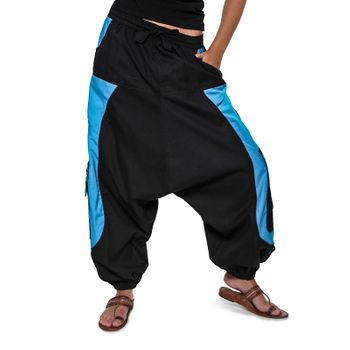 Men's - Aladdin Pants Harem Pants with Extraordinary Design  – Bild 9