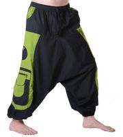 Men's - Aladdin Pants Harem Pants with Extraordinary Design  001