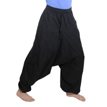 Men's - Harem Pants with Stylish Pattern Hippie Goa – Bild 9