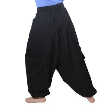 Men's - Harem Pants with Stylish Pattern Hippie Goa – Bild 10