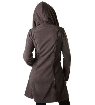 Patchwork Fleece Coat Boho Women's Jacket – Bild 8