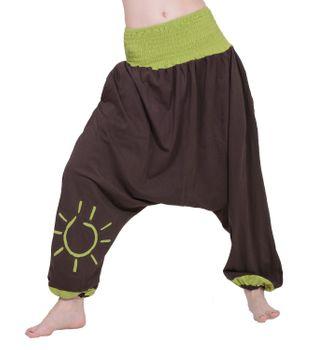 """Orientalische Sarouelhose """"Sonne"""" Om Afghani Goa Hippie Hose – Bild 5"""