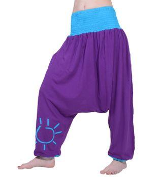 "Oriental Harem Pants ""Sun"" Om Aladdin Goa Hippie – Bild 2"