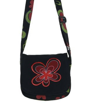 Alternative Women's Purse with Flower Pattern – Bild 3
