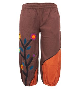 "Kinderhose ""The Tree"" Om Aladinhose Goa Hippie – Bild 2"