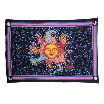 Kunst und Magie wall Hanging Luna The Night Sky  ca. 200 x 140 cm