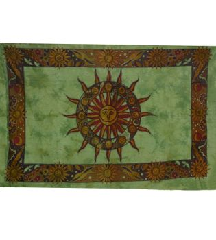 Day cover / wall hanging with sun motif and star sign – Bild 2