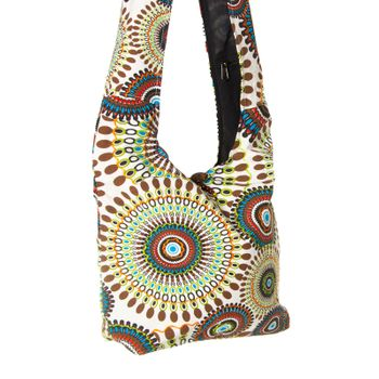 Colorful Shoulder Bag with Patterns – Bild 17