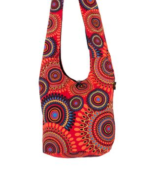 Kunst und Magie shoulder bag with colorful psy patterns – Bild 14