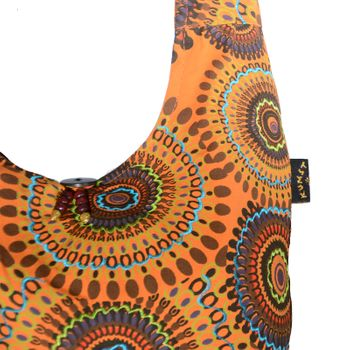 Kunst und Magie shoulder bag with colorful psy patterns – Bild 3