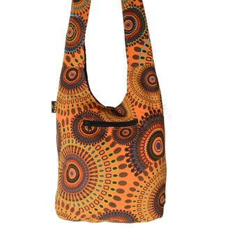 Kunst und Magie shoulder bag with colorful psy patterns – Bild 2