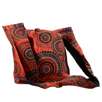 Kunst und Magie shoulder bag with colorful psy patterns – Bild 13