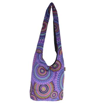 Kunst und Magie shoulder bag with colorful psy patterns – Bild 23