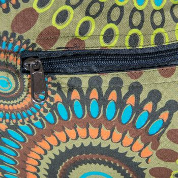 Kunst und Magie shoulder bag with colorful psy patterns – Bild 8