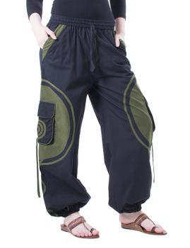 Kunst und Magie Unisex pants with Goa spiral – Bild 11