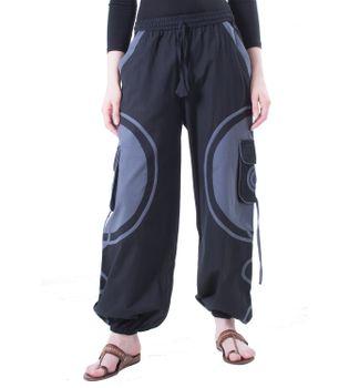 Kunst und Magie Unisex pants with Goa spiral – Bild 7