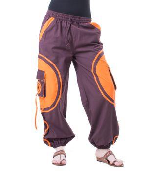 Kunst und Magie Unisex pants with Goa spiral – Bild 2
