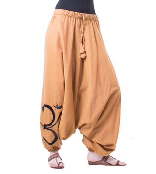 Cotton Harem Pants with OM Symbol – Bild 11