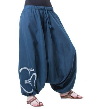 Cotton Harem Pants with OM Symbol – Bild 4