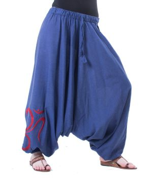 Cotton Harem Pants with OM Symbol – Bild 3
