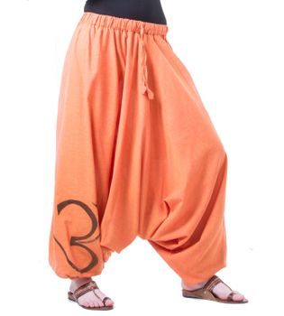 Cotton Harem Pants with OM Symbol – Bild 9