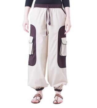 OM Unisex Psy Baggy Pants Hippie Pants Goa Cotton Dance Pants – Bild 4