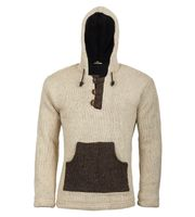 Kunst und Magie Nepal Baja knitted pullover for men