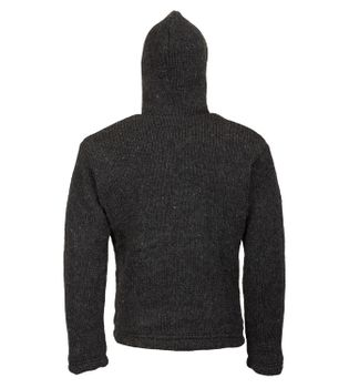Kunst und Magie Nepal Baja knitted pullover for men – Bild 4